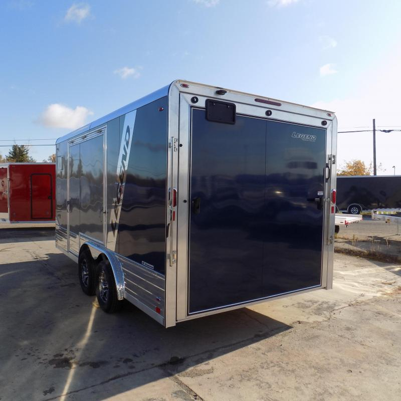 New Legend Deluxe V-Nose 8' x 19' Enclosed Cargo Trailer - LOADED! Only $179/mo. w/ $0 Down W.A.C.