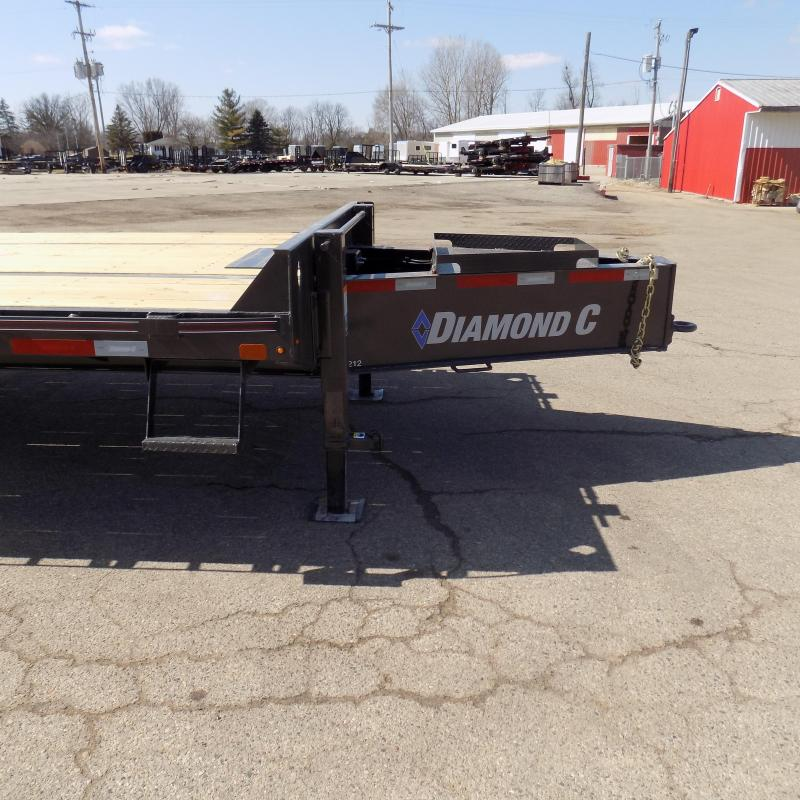 """New Diamond C 102"""" x 30' Equipment Trailer W/ 25.9K Weight Rating - $0 Down & Payments From $167/mo. W.A.C."""