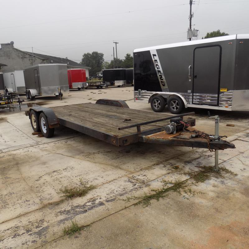 Used US Cargo 7' x 20' Car Hauler for Sale