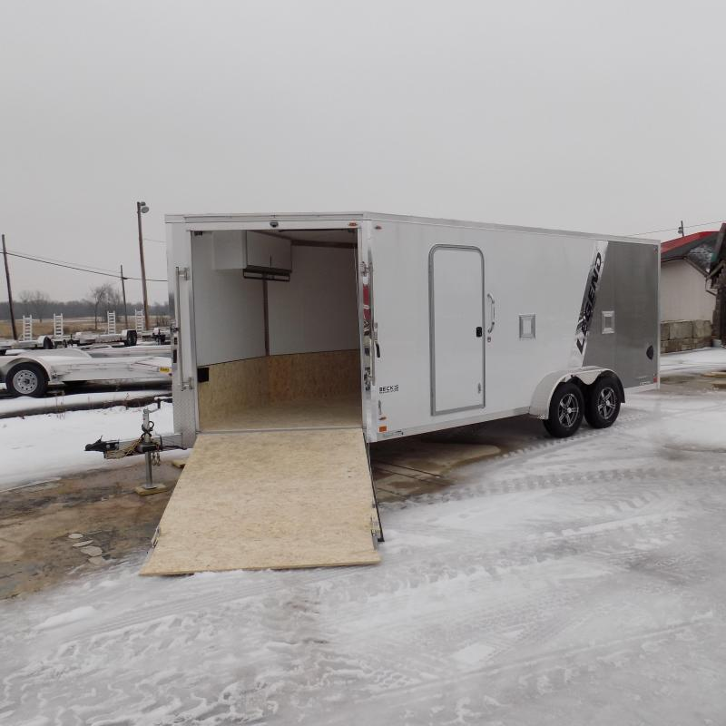 New Legend Explorer 7' x 23' Snowmobile Trailer - $0 Down & Payments From $139/mo. W.A.C - Guaranteed Best Deal