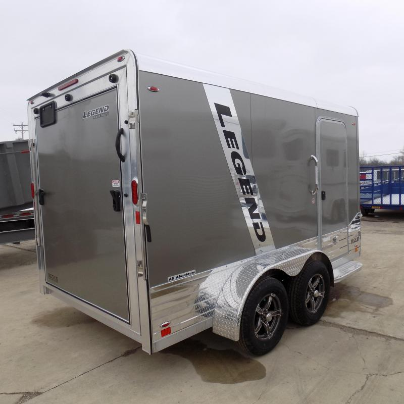 New Legend Deluxe V Nose 7' X 15' All Aluminum Cargo Trailer For Sale - $0 Down & Payments from $100/mo. W.A.C.