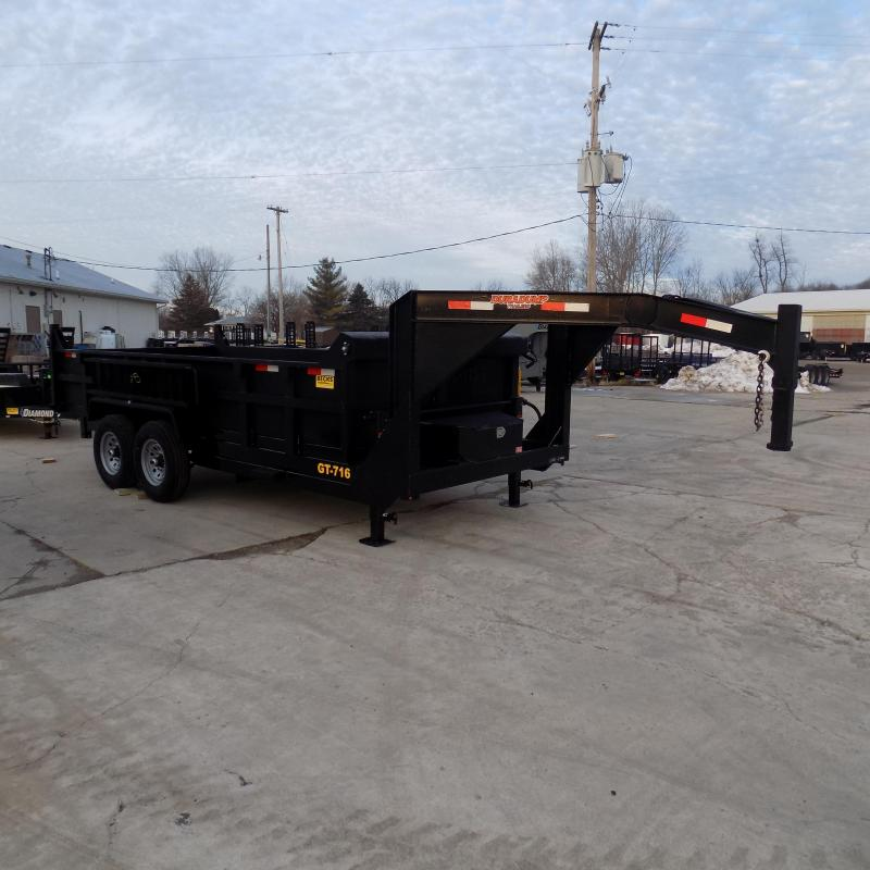 New DuraDump 7' x 16' Gooseneck Dump Trailer For Sale - $0 Down & Payments From $149/mo. W.A.C.