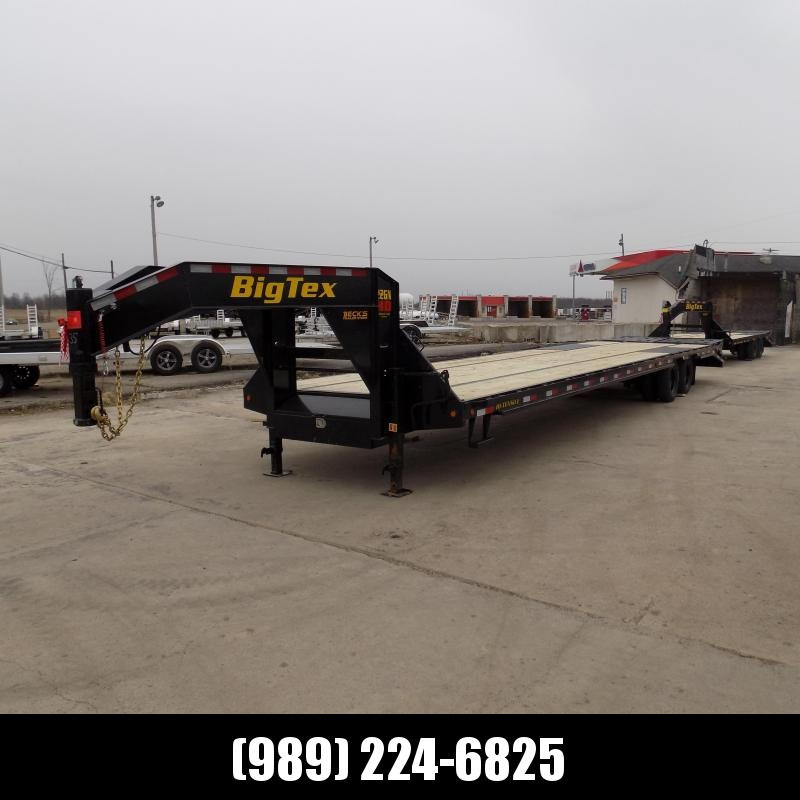 "New Big Tex 102"" x 35' + 5' Gooseneck Trailer w/ 23900# Weight Rating - $0 Down Financing Available"