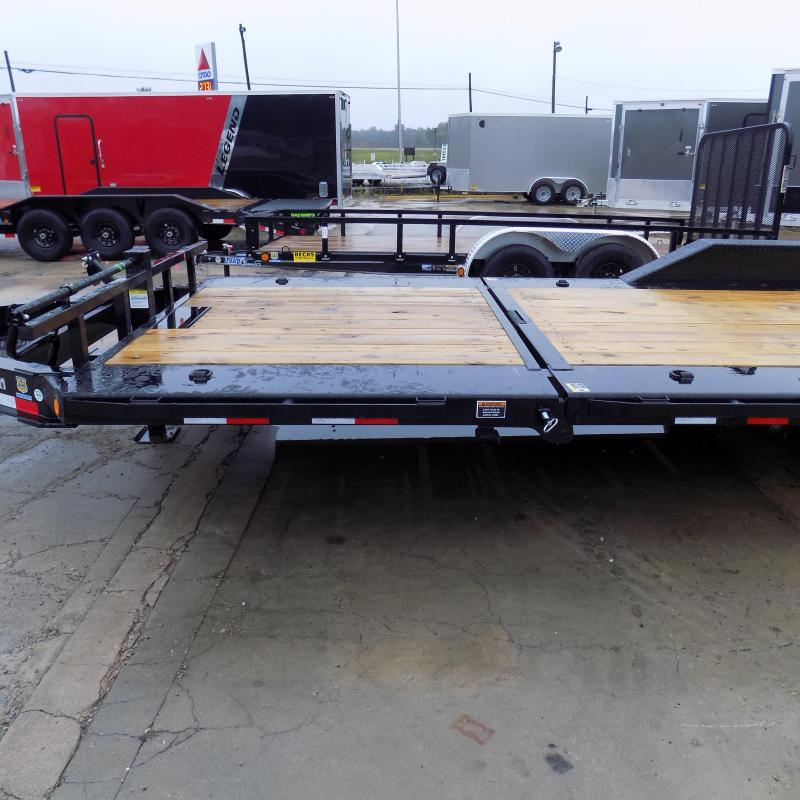 "New Load Trail 102"" x 22' Tilt-N-Go Equipment Trailer For Sale - $0 Down & Payments From $119/mo. W.A.C. - Best Deal Guarantee"