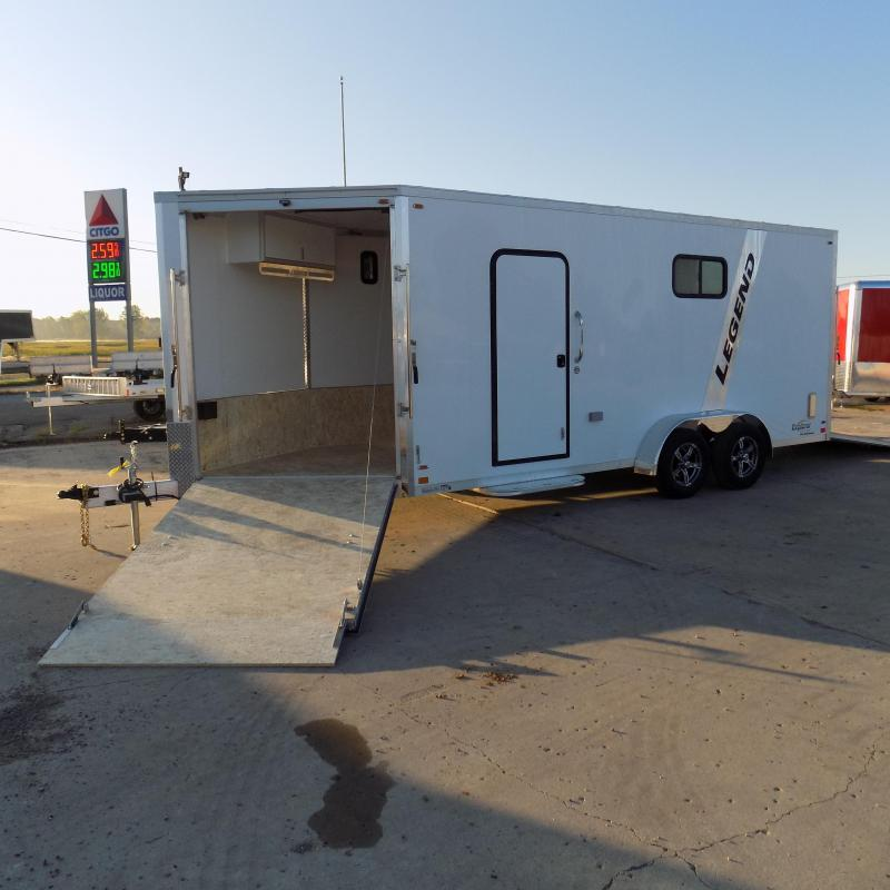 New Legend Explorer 7' x 23' Snowmobile Trailer - Payments From $159/mo with $0 Down W.A.C - Best Deal Guarantee