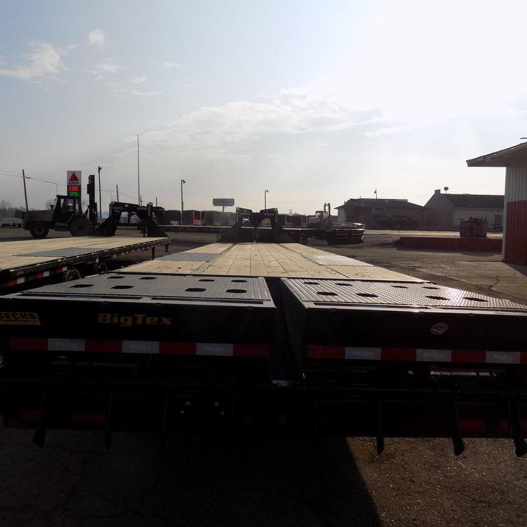 "New Big Tex 102"" x 35' + 5' Gooseneck Trailer with MEGA Ramps"