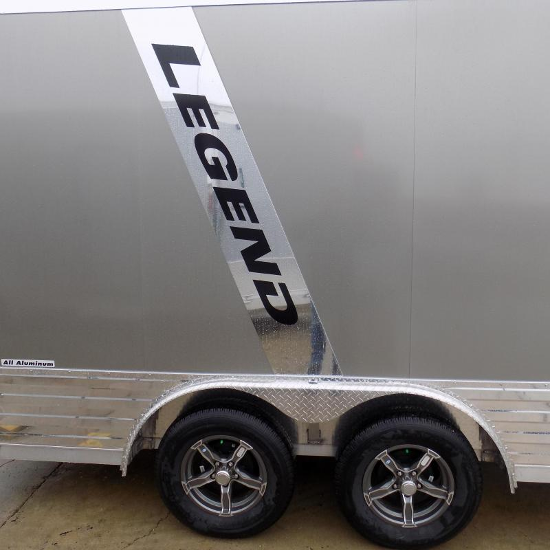 New Legend Deluxe V-Nose 8' x 19' Enclosed Cargo Trailer - Payments from $145/mo. W.A.C. - Best Deal Guarantee
