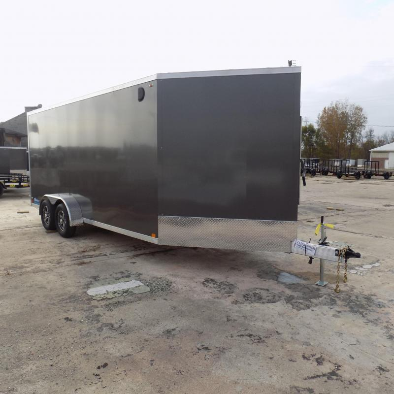 New Legend Thunder 7' x 23' Aluminum Snowmobile Trailer - $0 Down & Payments From $125/mo. W.A.C. - Best Deal Guarantee