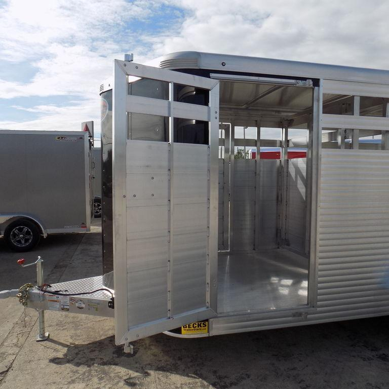New Sundowner Trailers Stockman Express 16' Aluminum Stock Trailer - $0 Down & Payments From $163/mo W.A.C.