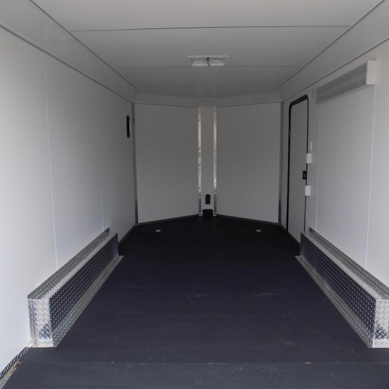 New Legend Deluxe V-Nose 8' x 17' Enclosed Cargo Trailer - LOADED! - $0 Down & Payments From $149/mo. W.A.C.