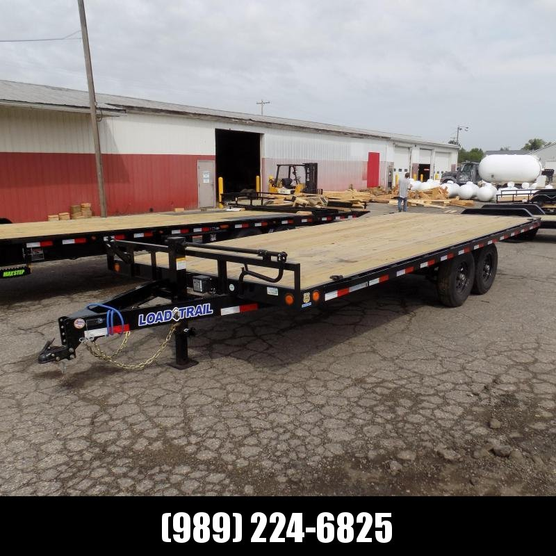 "New Load Trail DK14 102"" x 20' Deckover Trailer for Sale - $0 Down & Payments From $104/mo. W.A.C."