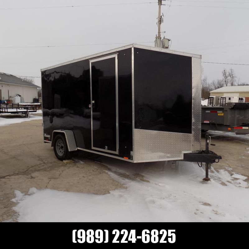 Used Cargo Express 7' x 12' Enclosed Cargo Trailer For Sale