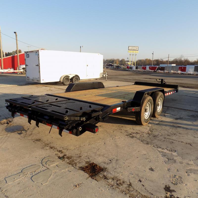 "New Norstar 83"" x 20' Equipment Trailer - $0 Down & Payments From $125/mo. W.A.C. - Best Deal Guarantee"