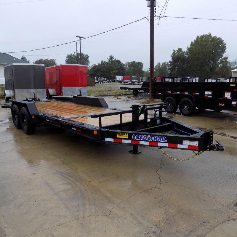 """New Load Trail TH14 83"""" x 20' Tilt Deck Trailer For Sale With 7000# Axles - Payments from $122/mo. W.A.C."""