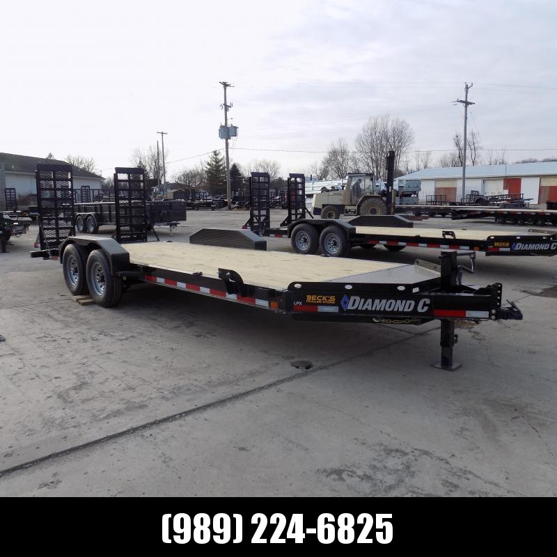 "New Diamond C Trailers 82"" x 20' Equipment Trailer For Sale - $0 Down & Payments from $119/mo. W.A.C."