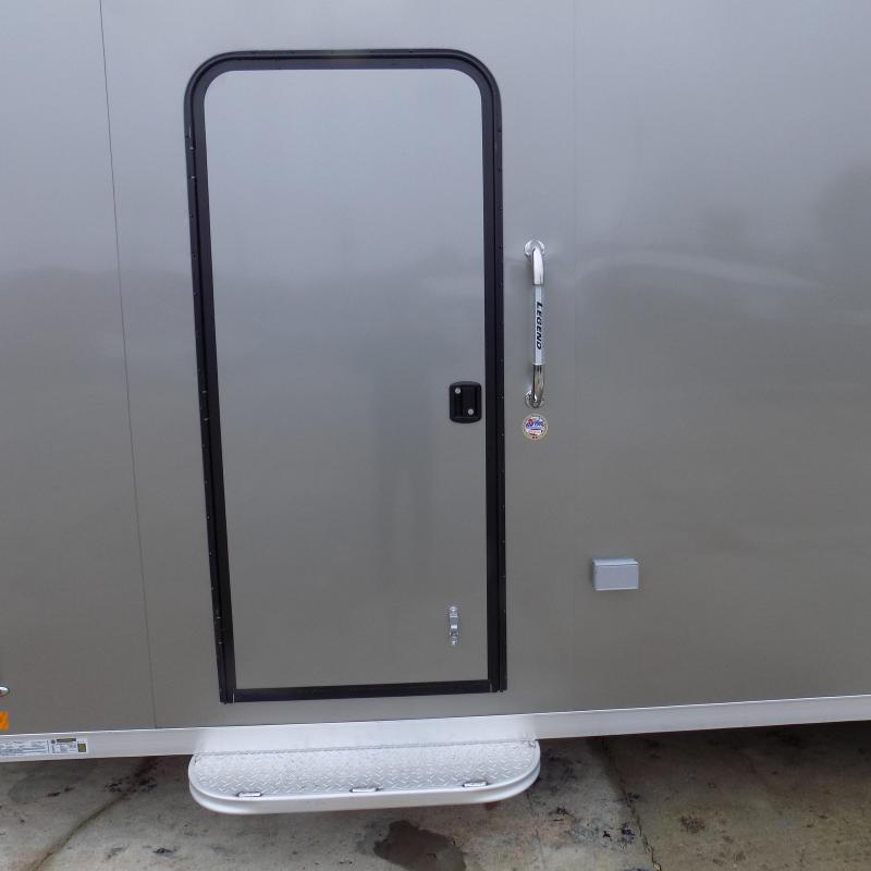 New Legend Explorer 7' x 27' Snowmobile Trailer - $0 Down & Payments From $157/mo. W.A.C - Guaranteed Best Deal