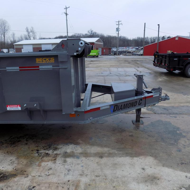 """New Diamond C 82"""" x 14' Low Profile Dump Trailer For Sale - $0 Down & Payments from $139/mo. W.A.C."""