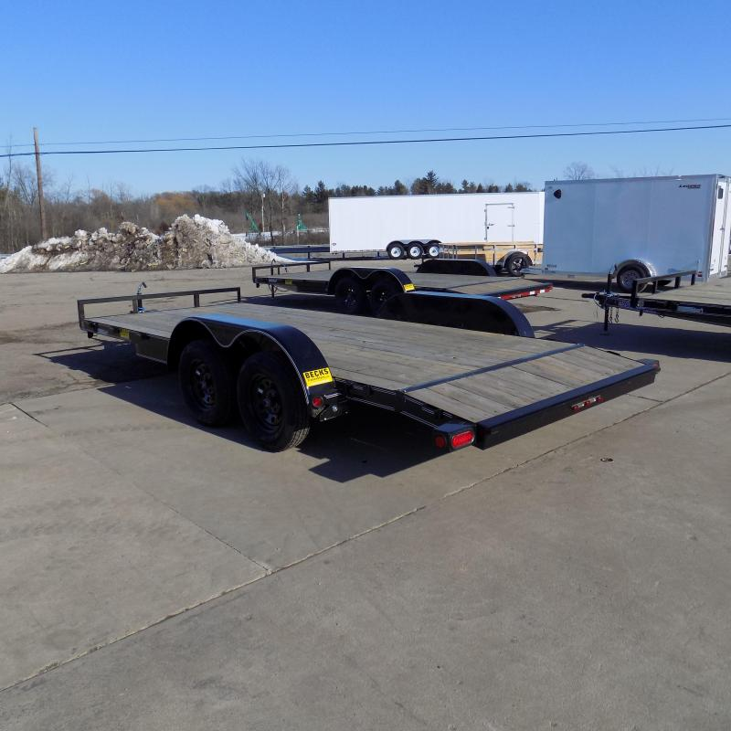 """New Load Trailer 83"""" x 18' Car Hauler Trailer For Sale - $0 Down & Payments from $69/mo. W.A.C."""