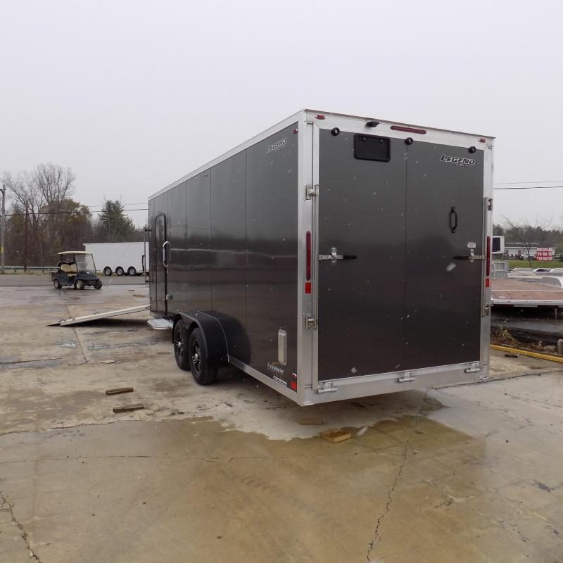 New Legend Explorer 7' x 27' Snowmobile Trailer - Payments From $168/mo. with $0 Down W.A.C - Best Deal Guarantee