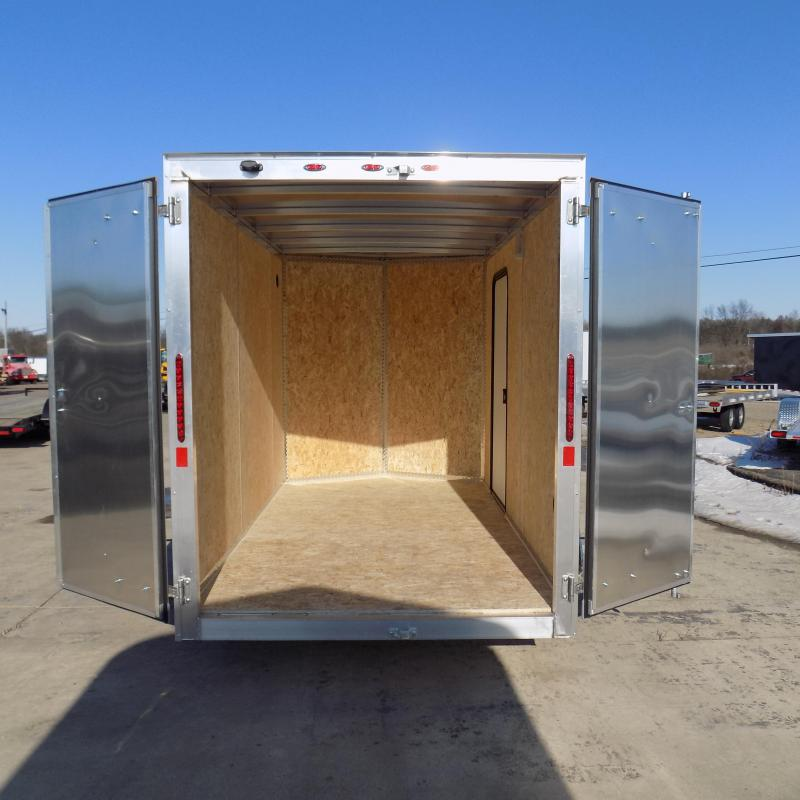 New Legend Thunder 6' x 11' Aluminum Enclosed Cargo Trailer for Sale- $0 Down Payments From $99/Mo W.A.C.