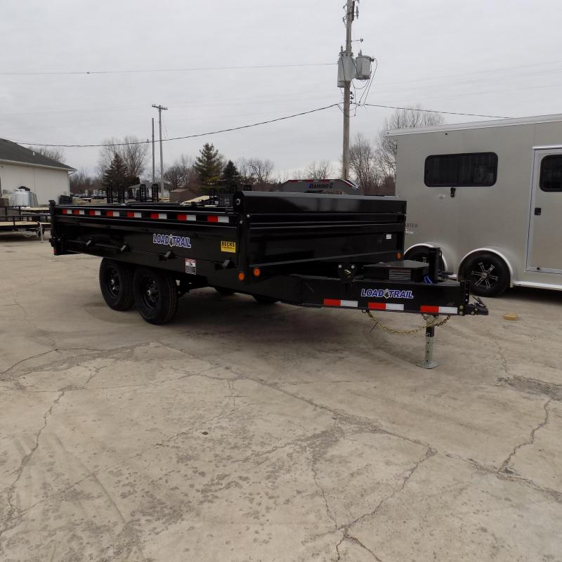 "New Load Trail 96"" x 14' Tandem Axle Deck Over Dump  - $0 Down & Payments From Payments From $125/mo. W.A.C."