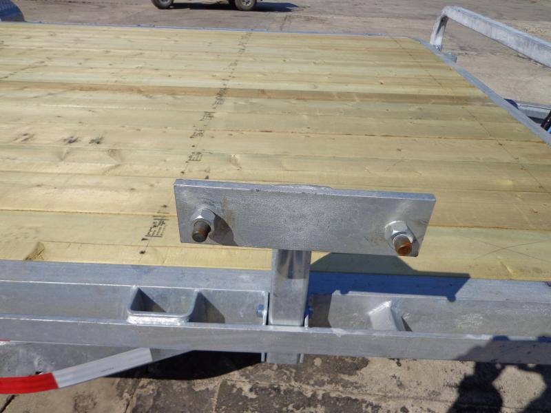"New Galvanized 83"" x 18' Equipment Trailer - Torsion Axles"