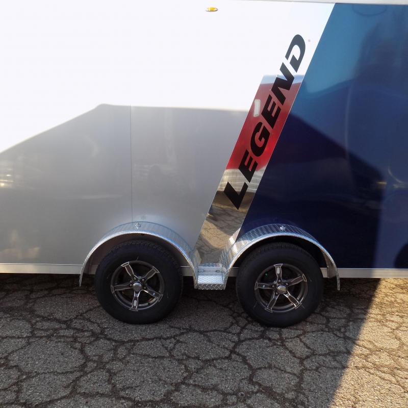 New Legend Explorer 7' x 29' Snowmobile Trailer - $0 Down & Payments From $169/mo. W.A.C - Best Deal Guarantee