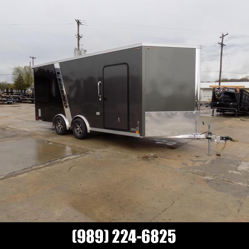 New Legend FTV 8' x 21' Heavy Duty Aluminum Trailer - $0 Down Financing Available