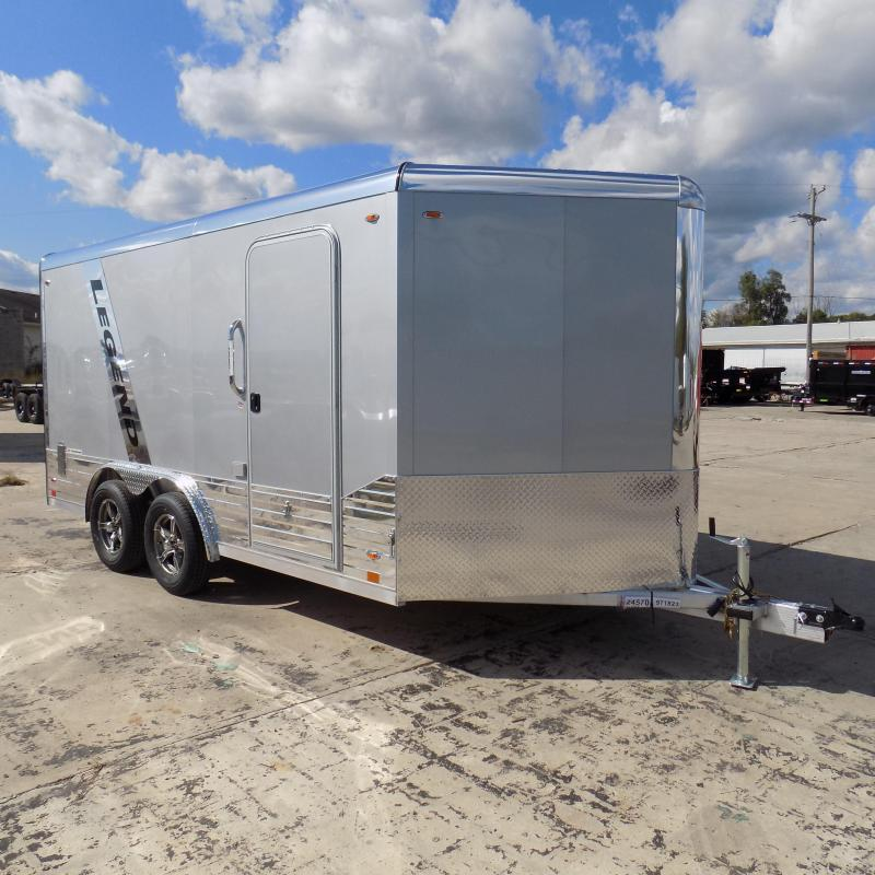 New Legend Deluxe V-Nose 8' x 17' Enclosed Cargo Trailer - $0 Down & Payments From $135/mo. W.A.C