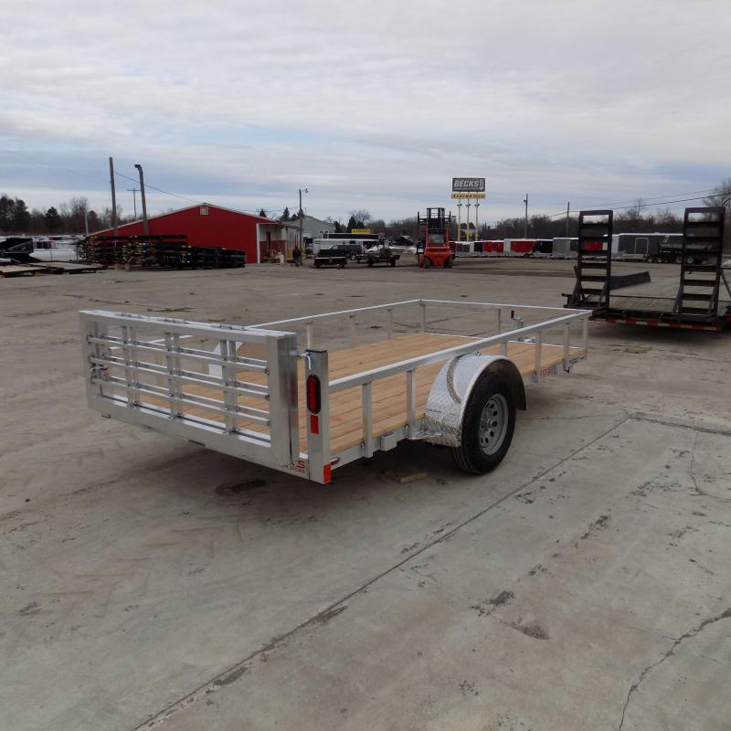 New Legend Open Deluxe 6' X 12' Aluminum Utility Trailer-$0 Down Payments From $60/mo W.A.C.