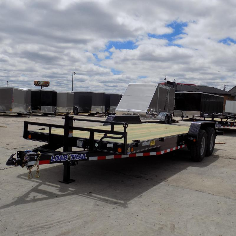 "New Load Trail 83"" x 20' Open Car Hauler with 7K Axles"