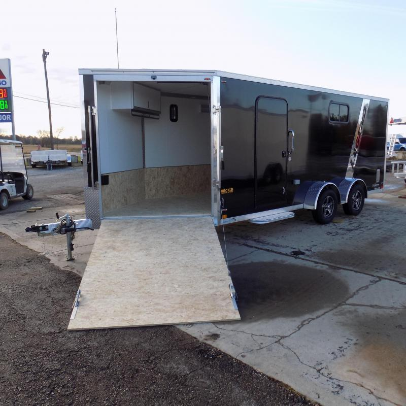 New Legend Explorer 7' x 23' Snowmobile Trailer - $0 Down & Payments From $152/mo. W.A.C - Guaranteed Best Deal