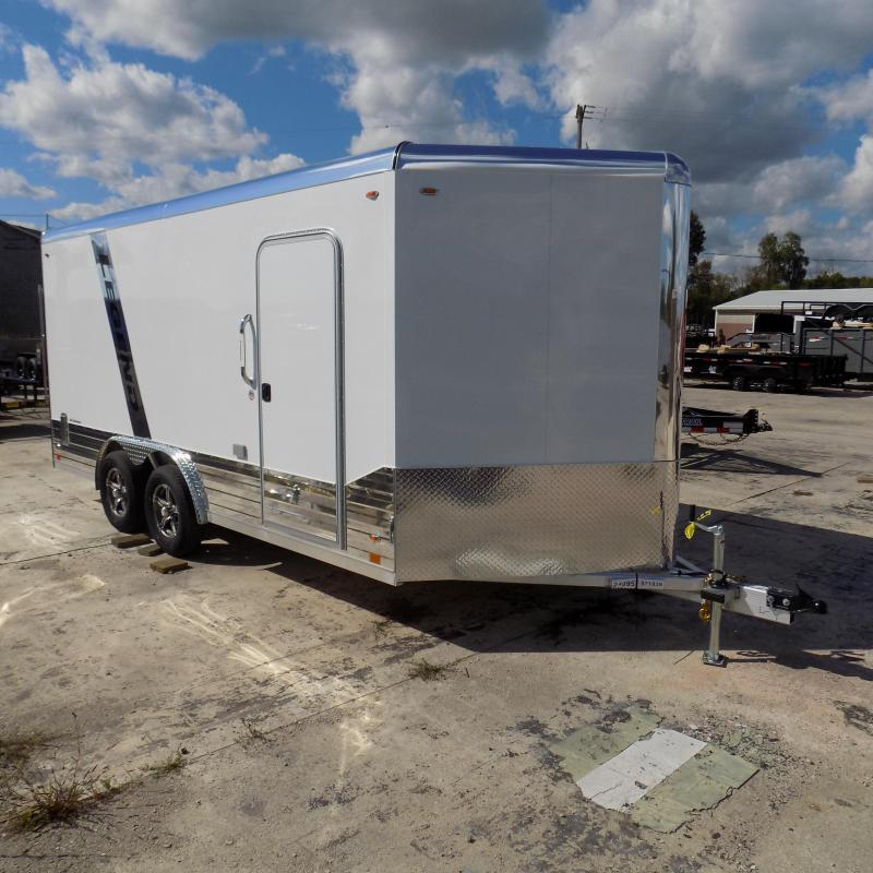 New Legend Deluxe V-Nose 8' x 19' Enclosed Cargo Trailer - $0 Down & Payments from $145/mo. W.A.C. - Best Deal Guarantee