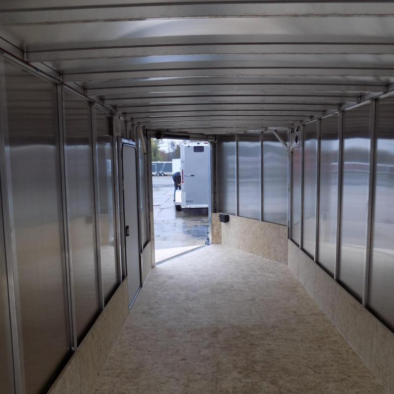 New Legend Thunder 7' x 27' Aluminum Snowmobile Trailer - $0 Down & Payments From $125/mo. W.A.C. - Best Deal Guarantee