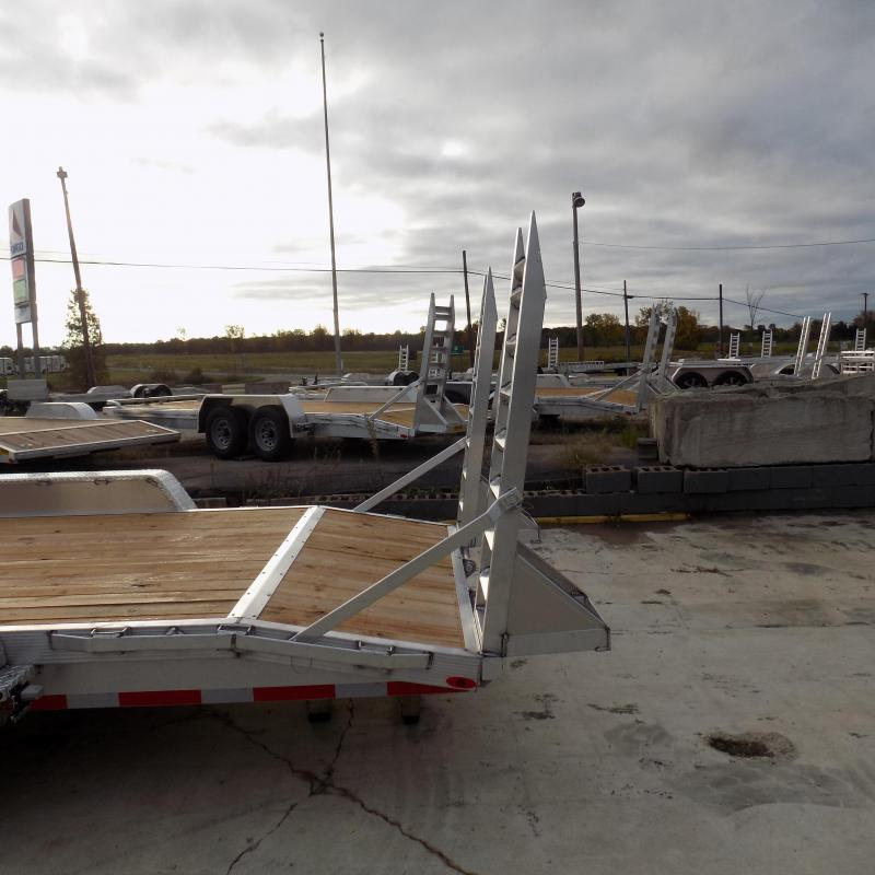 New Legend 7' x 20' Aluminum Equipment Trailer For Sale - Payment from $145/mo. W.A.C - Best Deal Guarantee