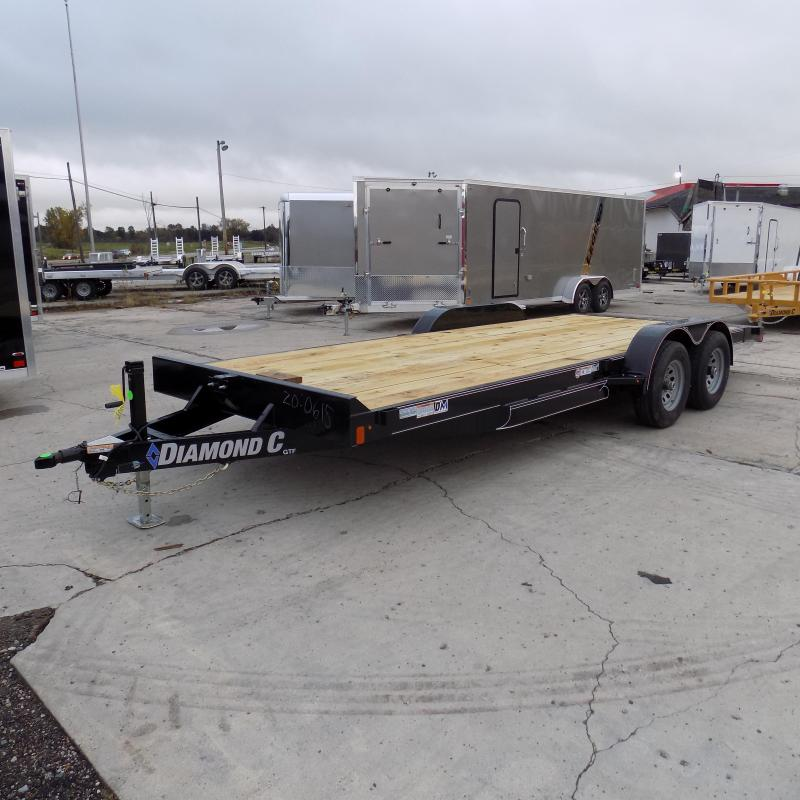 """New Diamond C Trailers 82"""" x 20' Open Car Hauler For Sale - Payments From $99/mo. with $0 Down W.A.C."""