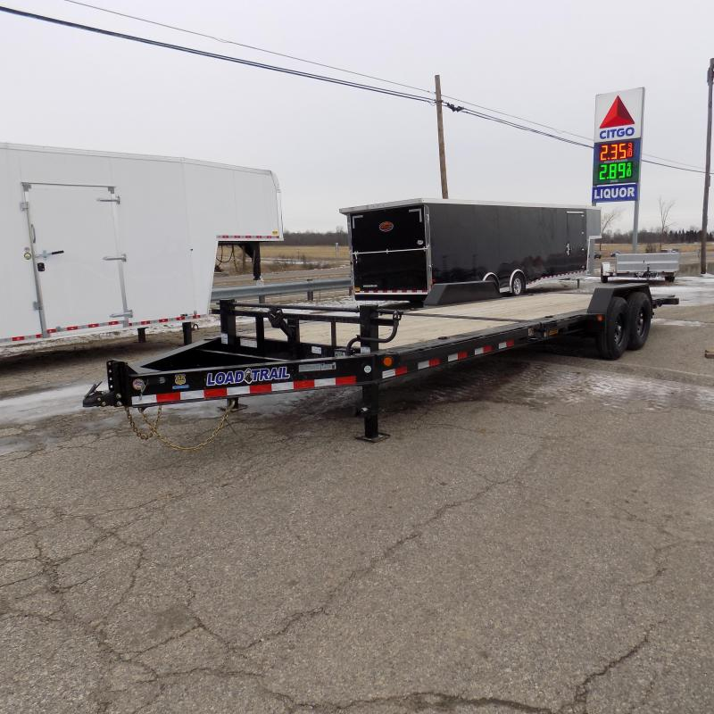 """New Load Trail TH14 83"""" x 24' Tilt Deck Trailer- $0 Down Payments From 149/mo W.A.C"""
