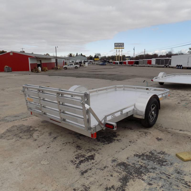 New Legend Trailers 7' X 12' Aluminum Deck Utility Trailer - Perfect for UTVS, ATVs, Golf Carts, Mowers & More - $0 Down & Payment From $79/mo. W.A.C.