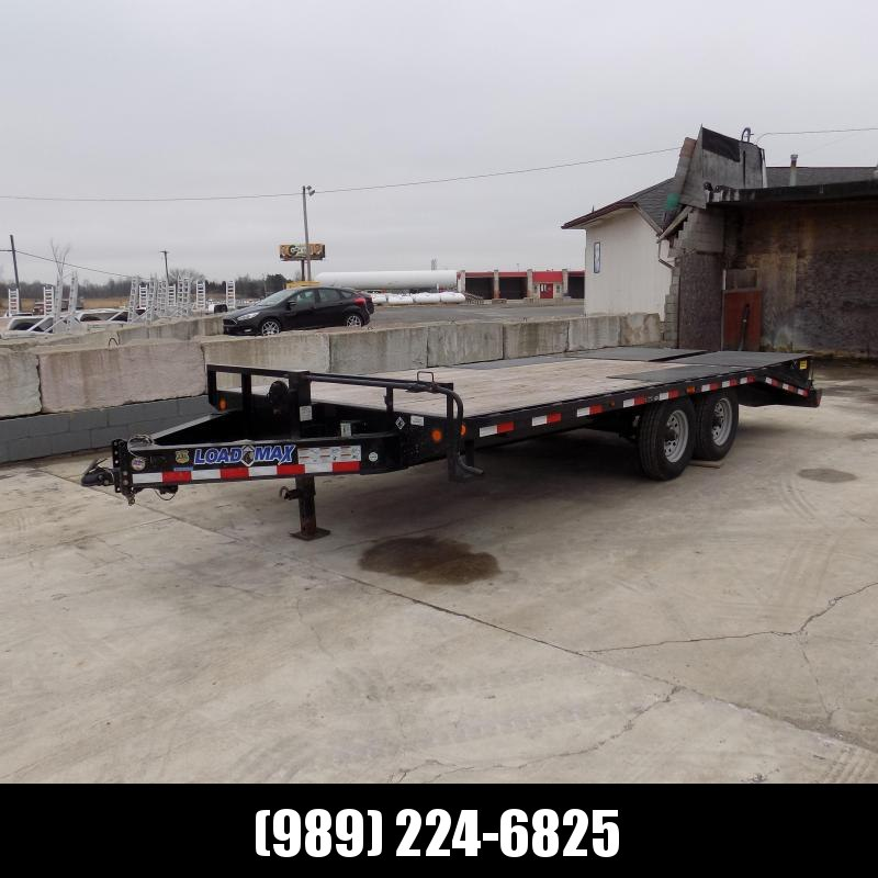 "Used Load Trail 102"" x 20' Deckover Trailer For Sale - Great Condition!"