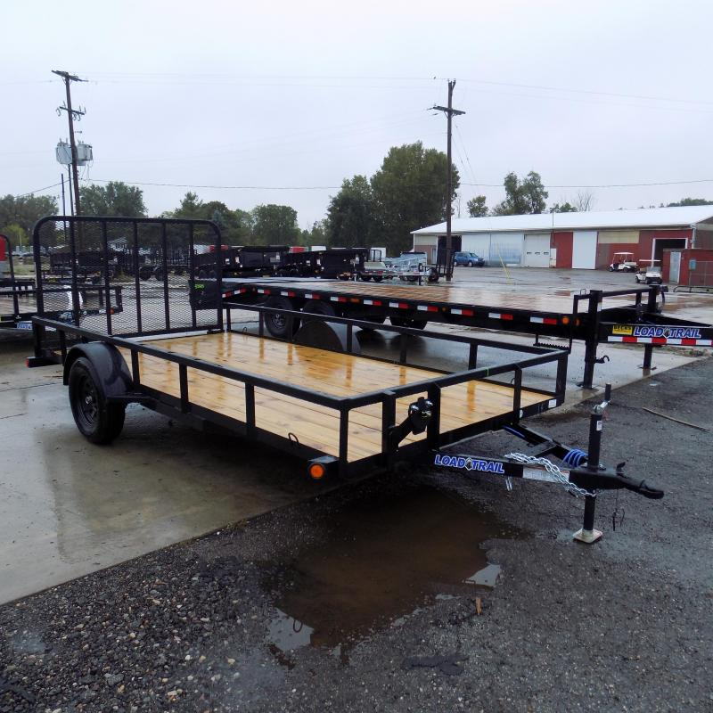 "New Load Trail 83"" x 14' Open Utility Trailer for Sale - $0 Down & Payments From $51/mo. W.A.C."
