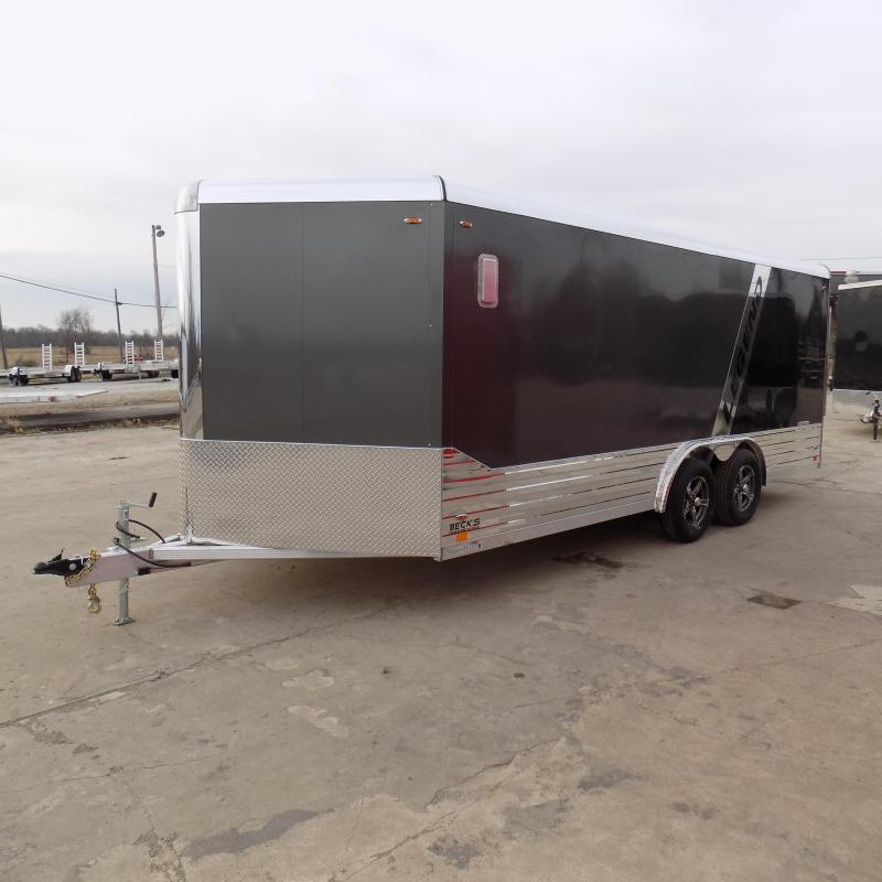 New Legend Deluxe V-Nose 8' x 21' Enclosed Cargo Trailer - $0 Down & $115/mo. W.A.C.