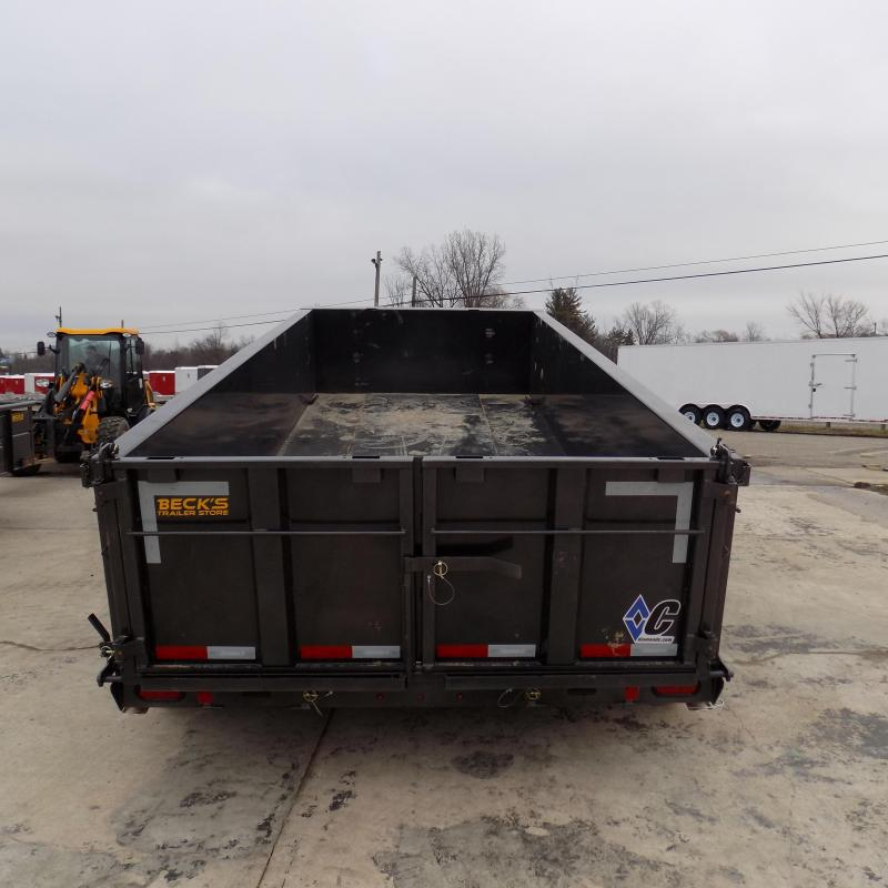 """New Diamond C 82"""" x 16' Low Pro Dump Trailer - 19,500 lb Payload Capacity! - Payments From $154/mo. W.A.C."""