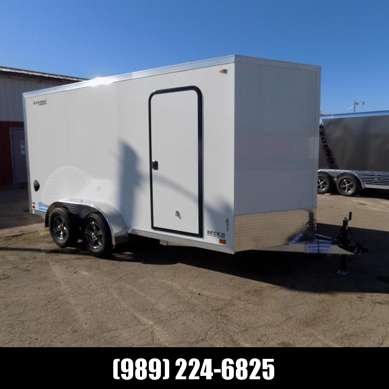 New Legend Thunder 7' x 16' Aluminum Enclosed Cargo For Sale- $ 0 Down Payments From $109/Mo W.A.C
