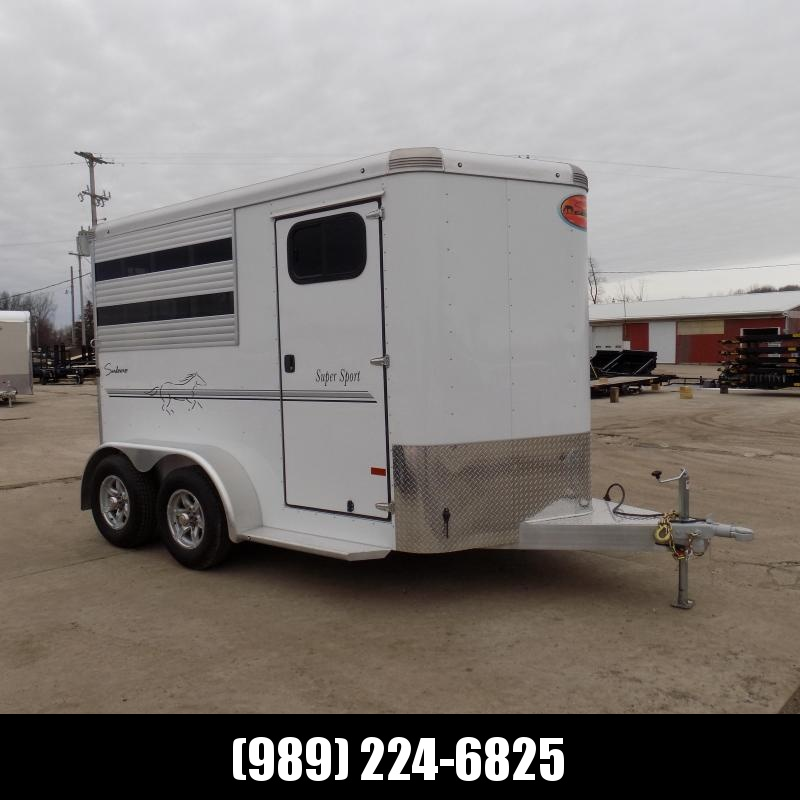 New Sundowner Trailers Aluminum Slant Load 2 Horse Trailer - $0 Down & Payments from $143/mo. W.A.C.