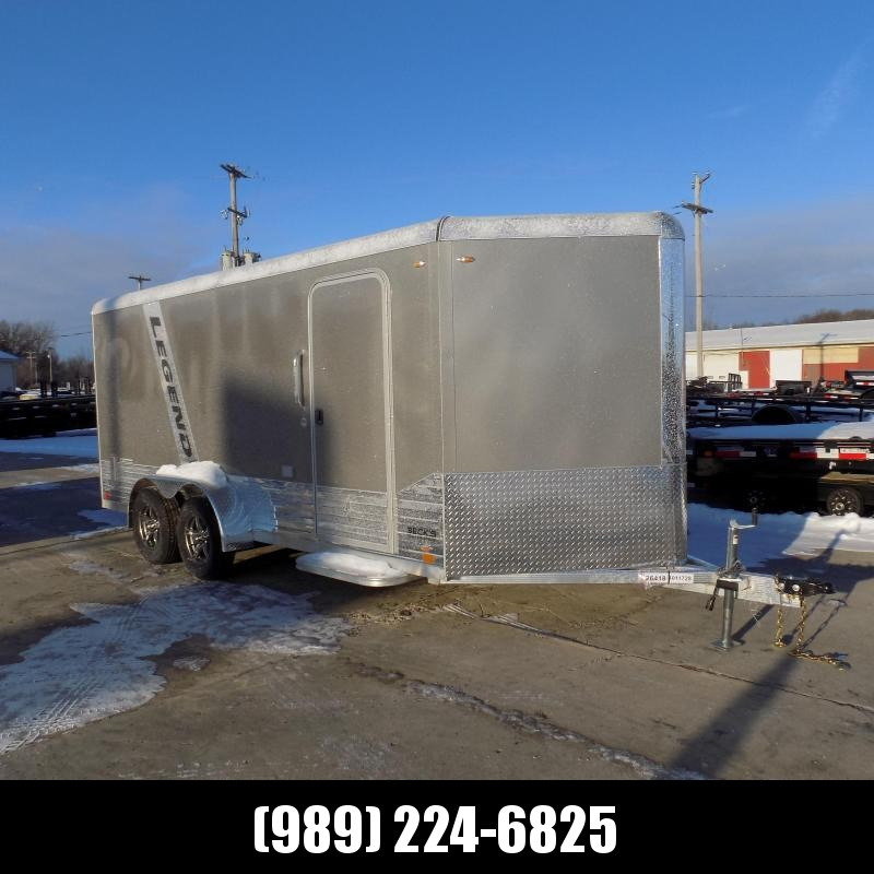 Legend Deluxe 7' x 19'  Enclosed Cargo For Sale - $0 Down & Payments From $133/mo. W.A.C.