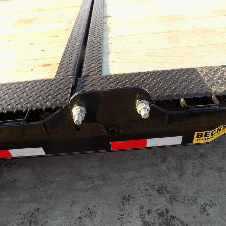 New Iron Bull TLB16 20' Tilt Deck Trailer with 8K Axles Upgrade