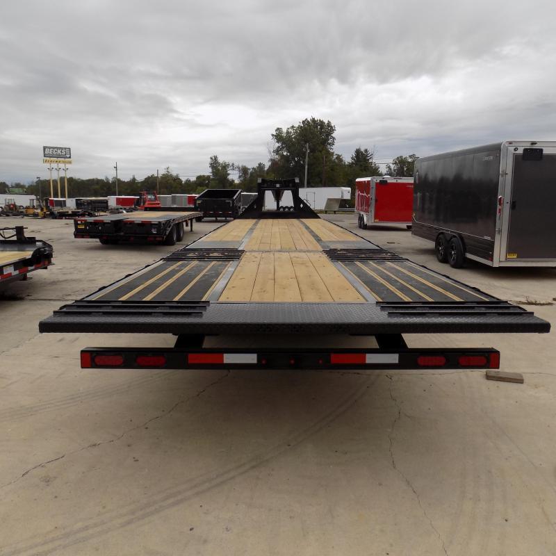 """New Diamond C Trailers 102"""" x 40' Gooseneck w/ Hydraulic Dovetail - Brakes  - Jacks"""