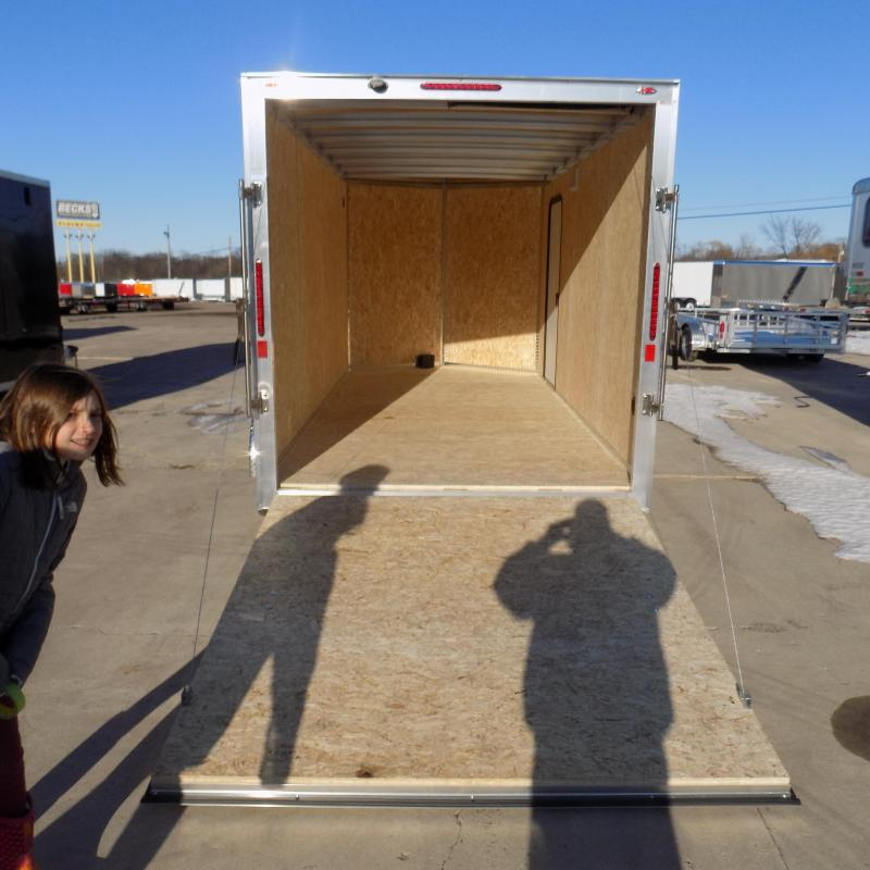 New Legend Thunder  7' x 16' Aluminum Enclosed Cargo Trailer-$0 Down Payments From $111/mo W.A.C