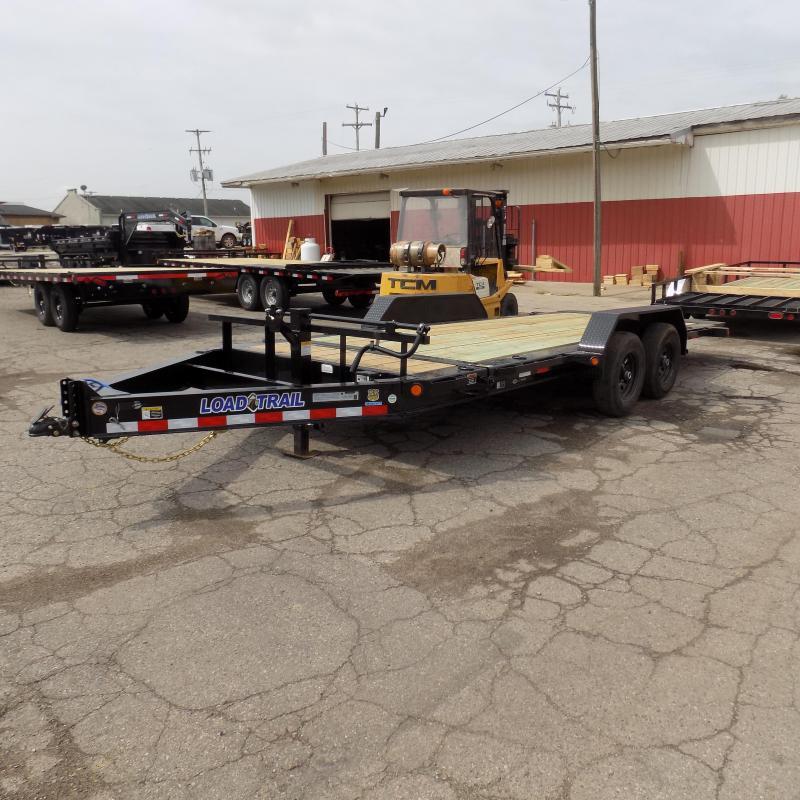 """New Load Trail TH14 83"""" x 18' Tilt Deck Trailer w/ Torsion Axles"""