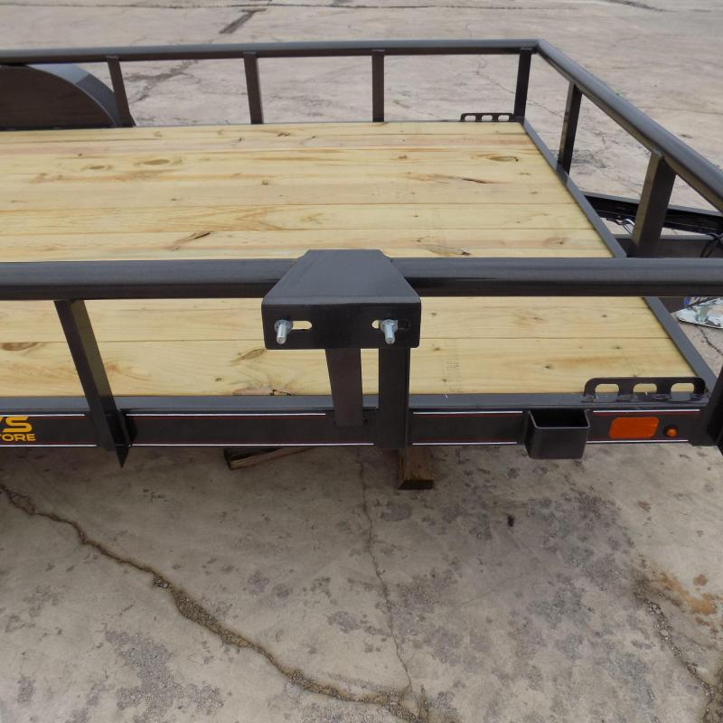 """New Diamond C 77"""" x 12' Utility Trailer With Bi-Fold Rear Gate - $0 Down Financing Available - Best Deal Guarantee"""